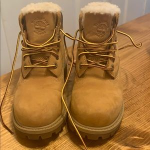 Timberland girl's 13 boots